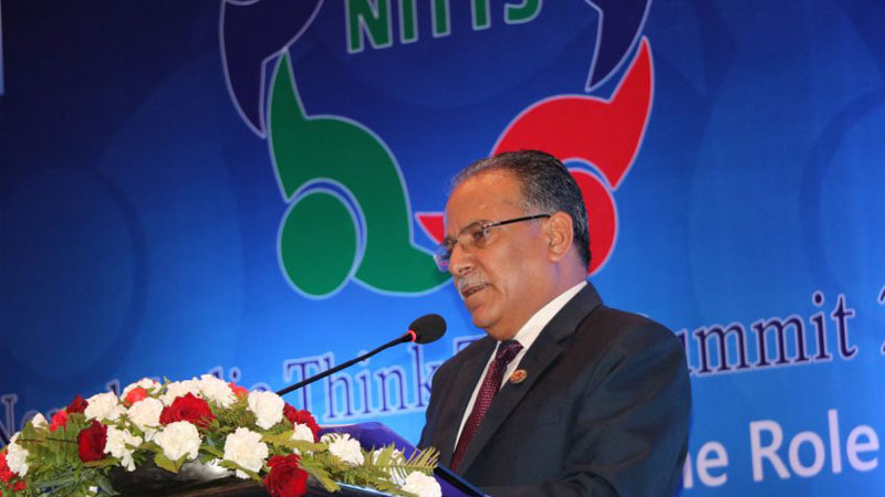 Comrade Prachanda, Chairperson of the Communist Party of Nepal (CPN)