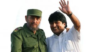 Evo Morales Says Fidel Castro is an Eternal Leader