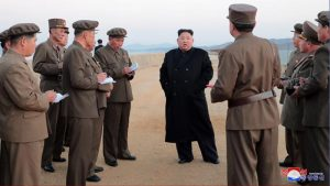 DPRK Supreme Leader Kim Jong Un Supervises Newly Developed Tactical Weapon Test