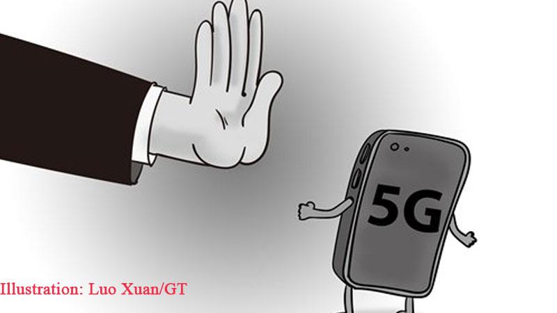 US crackdoun on Huawei 5G