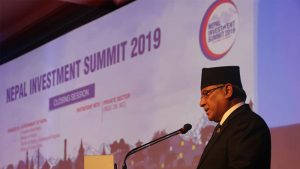 Nepal's unique topography offers tremendous opportunities – Chairman Prachanda