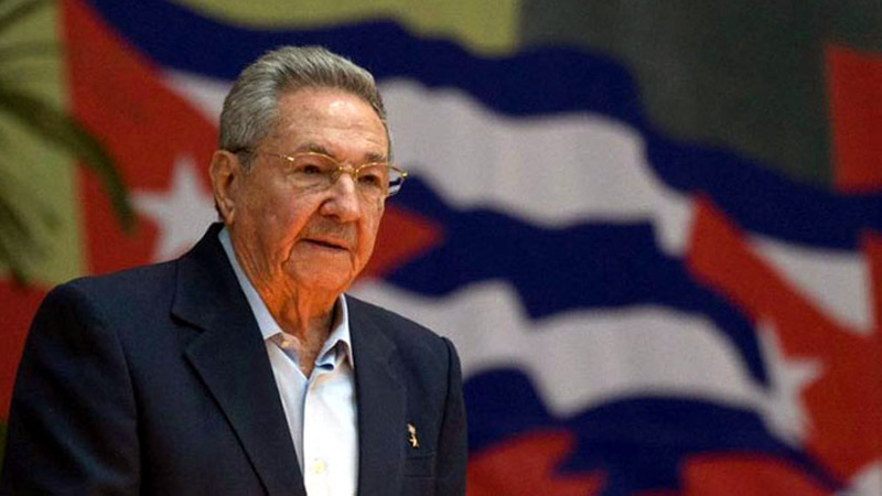 Raul Castro, former President of Cuba and first Secretary of the Communist Party of Cuba