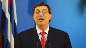 Cuban FM thanks the world demanding for the lifting of US blockade amidst COVID-19