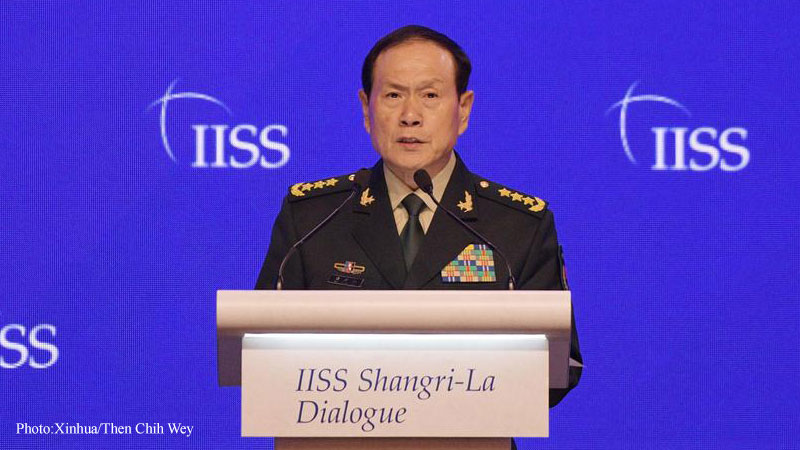 Gen. Wei Fenge Chinese Defense Minister
