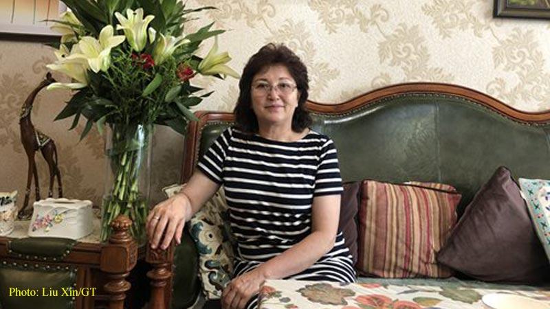 Yeerkexi Kuerbanbaike, vice president of Xinjiang Writers Association