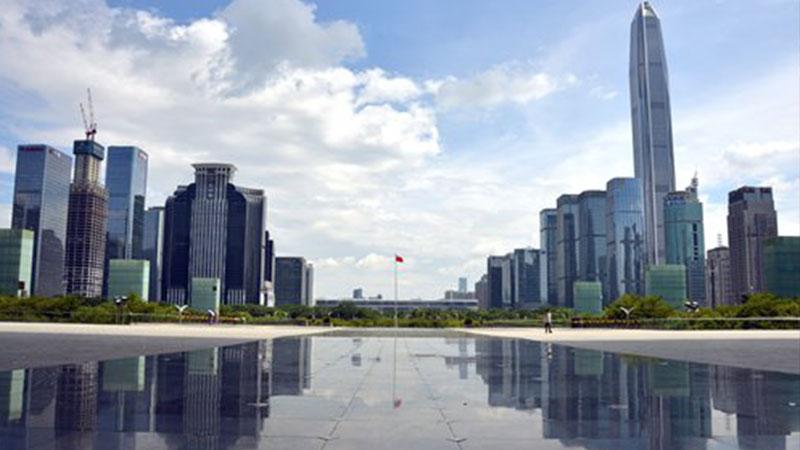 CBD of Futian, Shenzhen, South China, Guangdong