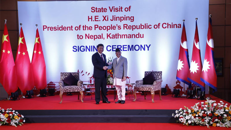 President Xi's Nepal Visit Completes With 14-Point Joint Statement