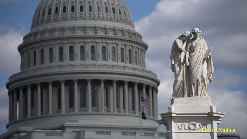 capital hill, statue of liberty, usa
