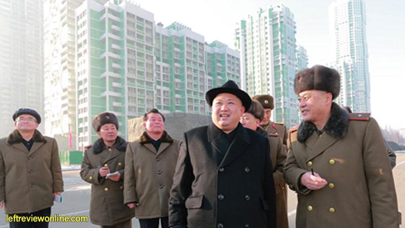 marshal kim jong un, infrastructure, dprk, skyrappers