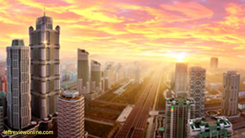 dprk, pyongyang, infrastructure, skyrappers
