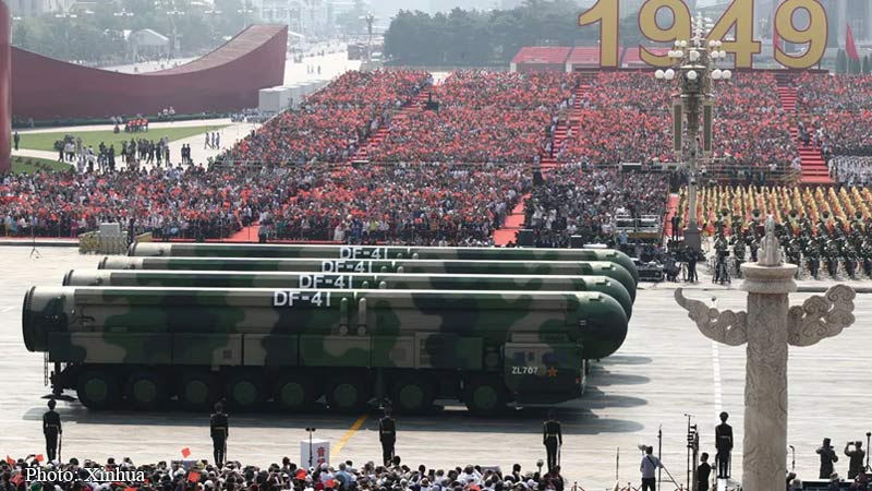 Dongfeng 41, ICBM, Intercontinental Ballestic Missile