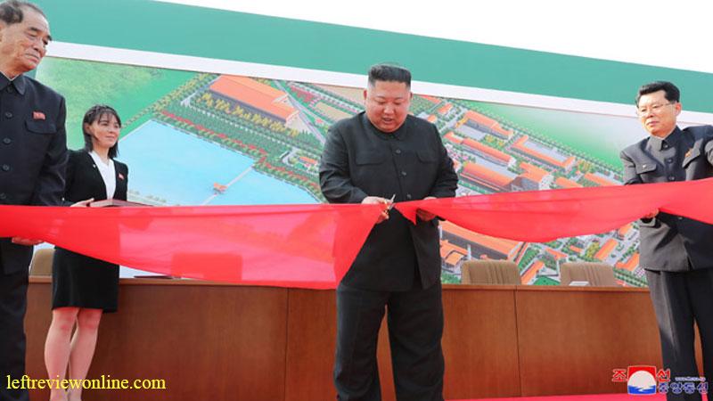 marshal kim jong un, Sunchon Phosphatic Fertilizer Factory, dprk,