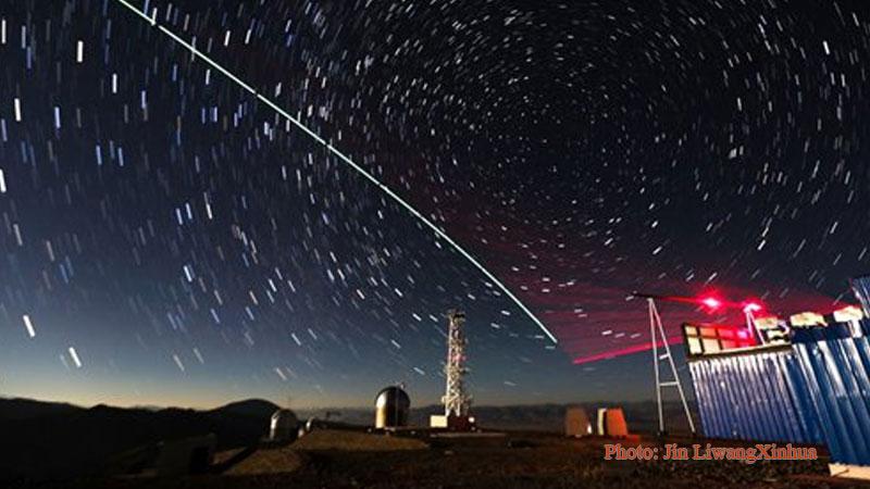 """satellite-to-earth link established between quantum satellite """"Micius"""""""