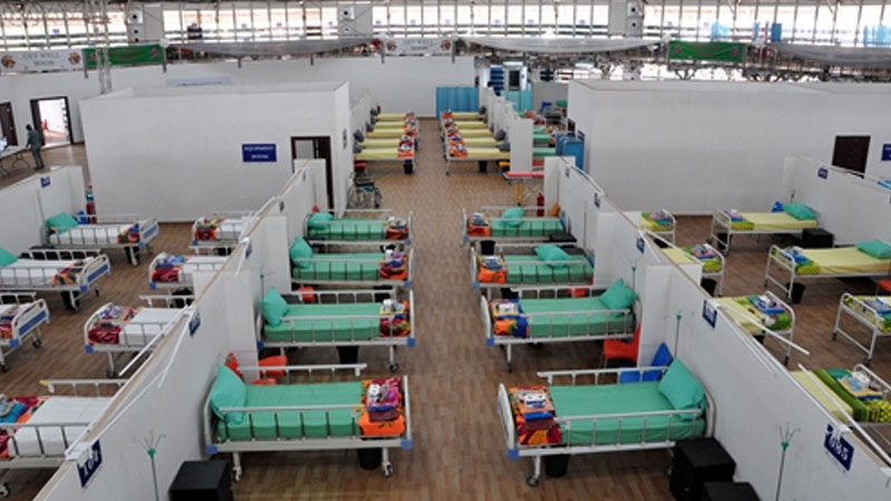Thisday Dome-converted makeshift hospital in Abuja, the capital city of Nigeria