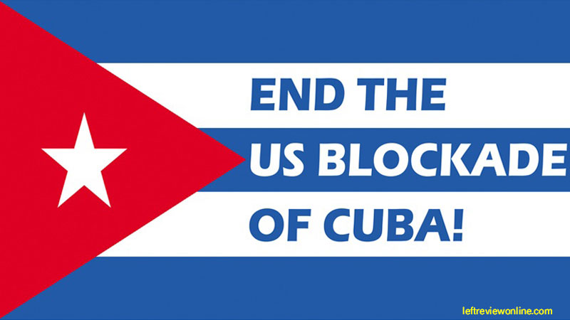 Image result for cuba end the blocade