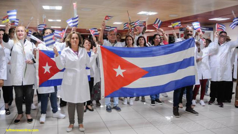 Nobel Peace Prize to Cuban doctors
