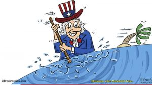 US stands in the way of peace and stability in S. China Sea