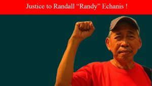 "ILPS strongly condemned the barbaric murder of Randall ""Ka Randy"" Echanis"