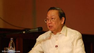 Jose Maria Sison Condemned Murder of Peasant Leader Ka Randy