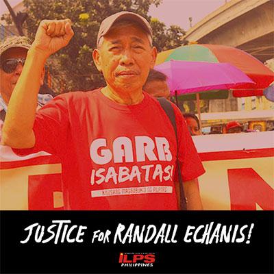 "Justice for Randill ""Randy"" Echanis"