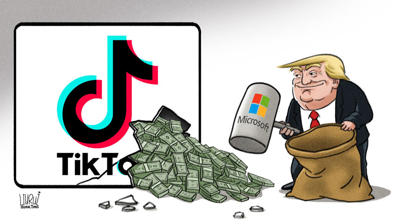 Trump's request for cut from TikTok deal 'unprofessional,' threatens US business environment