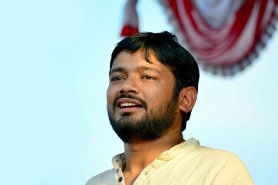 लोक सभाका लागि उमेद्वारी दर्ता गर्दै क. कन्हैया कुमार (अप्रिल ९)