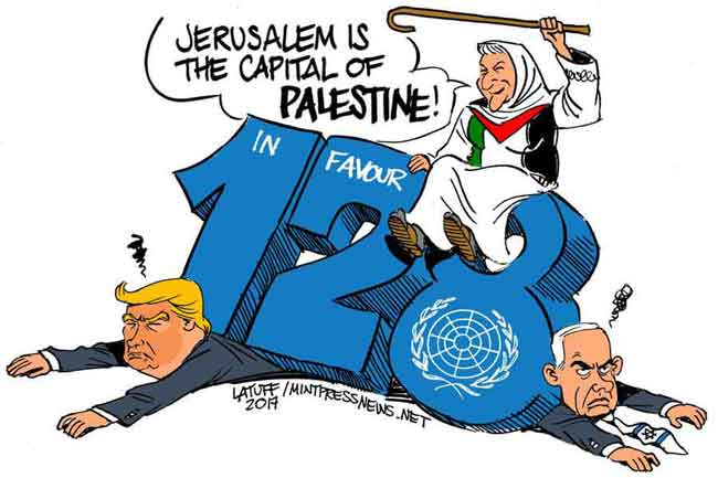UN decision of Jerusalem