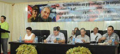 Cuban peasants to promote global solidarity