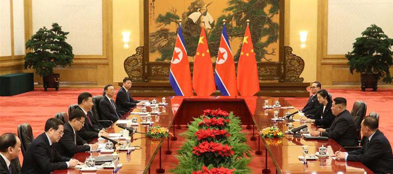 Xi Jinping-Kim Jong Un meeting in Beijing