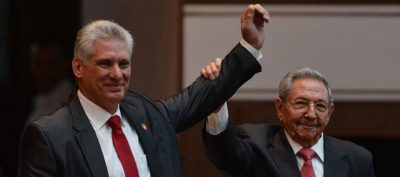 Miguel Diaz-Canel elected as the new President Cuba