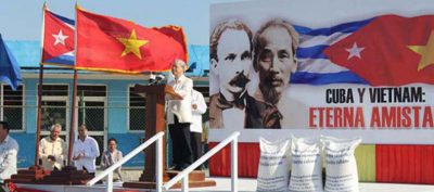 The General Secretary of Communist Party of Vietnam arrived Cuba.