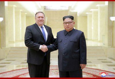 Kim Jong Un Meets US Secretary of State