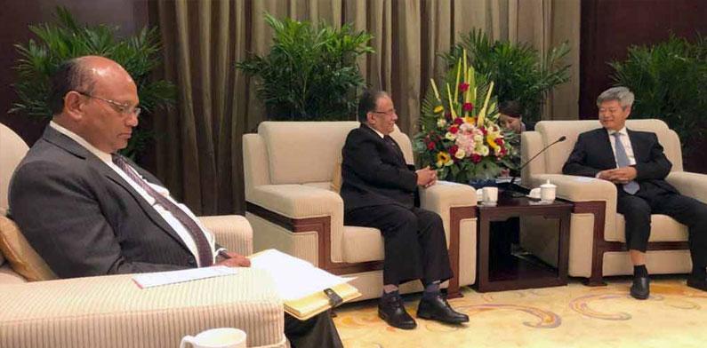 Comrade Prachanda in China Tour