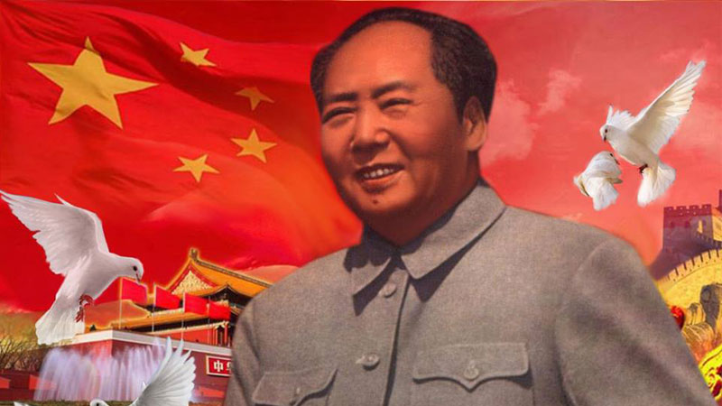 Mao Zedong, Chairman of the Communist Party of China