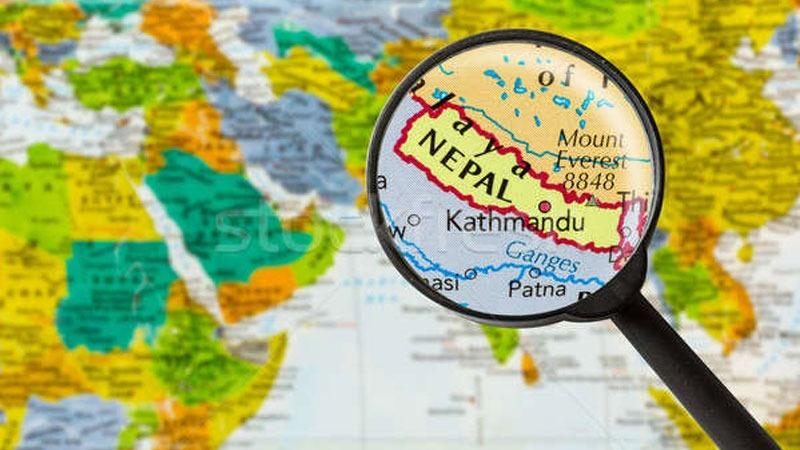 Map of Nepal, Maile Bujhna Nasakeko Desh