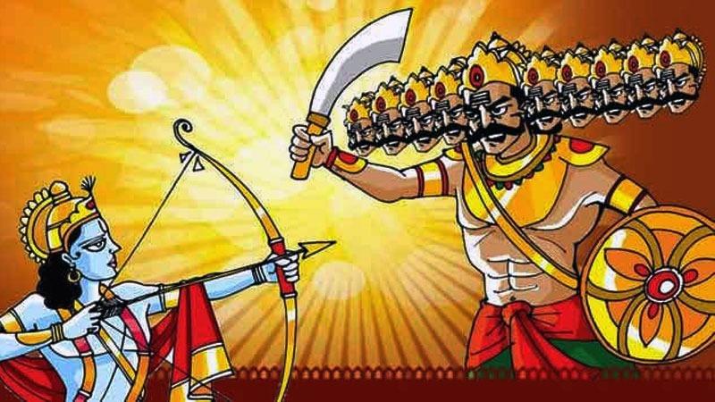 War between Ram And Rawan