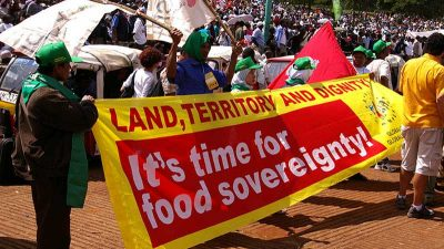 Food Sovereignty, Campaign La Via Campesina (LVC), International Peasants' Organization