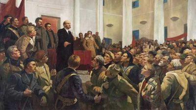 अक्टोबर क्रान्तिपछि जनताको नाममा क. लेनिनको पहिलो सम्बोधन