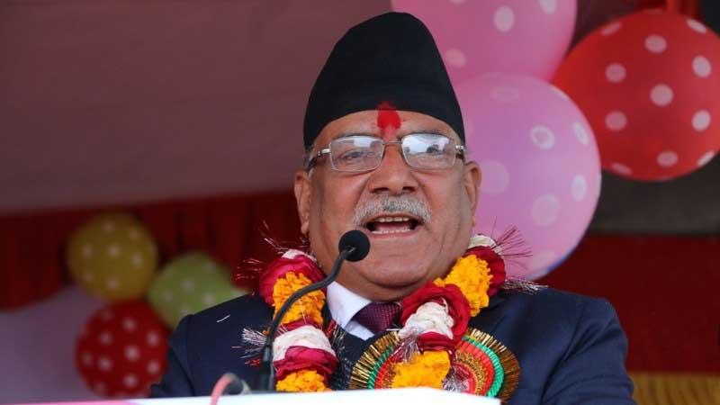 PRachanda at chitwan, Khukuri stories are false and lies