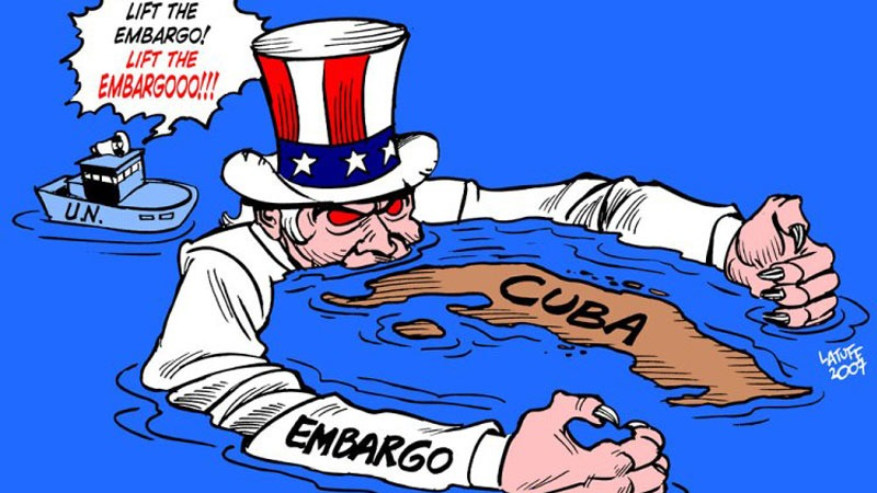 UN passed resolution to lift US Embargo on Cuba