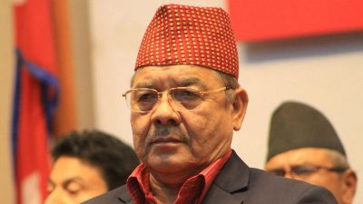 Bamdev Gautam, Ex-Deputy Prime Minister and Home Minister and Leader, Communist Party of Nepal