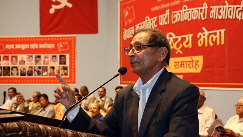 Mohan Baidya Kiran, General Secretary of Communist Party of Nepal (Revolutionary Maoist)