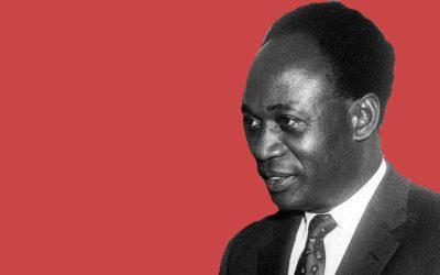 Kwame Nkrumah, ex president of Ghana
