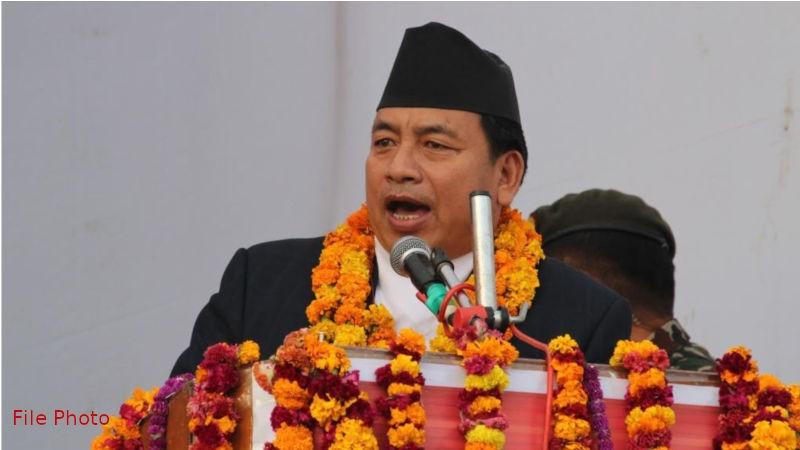 Nanda Bahadur Pun 'Pasang', Vice-President of Nepal