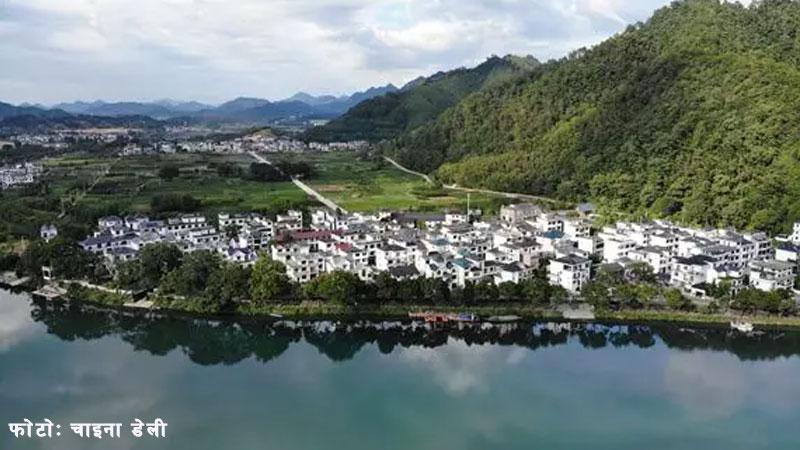 Jinxing Village of China