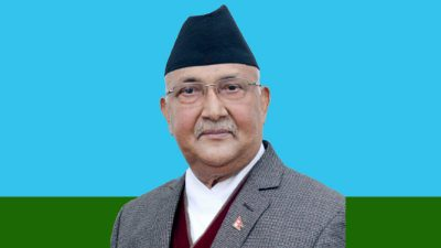 KP sharma Oli, Chairman of Nepal Communist Party (NCP)