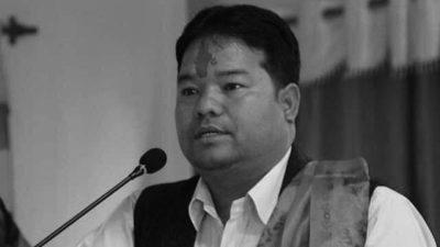 नेकपाका युवा नेता तथा प्रदेश सभा सदस्य ओलीको निधन