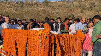 रामघाटमा सदाका लागि बिलायाे एउटा नक्षत्र, अलविदा प्रिय नेता रविन्द्र