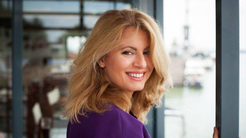 स्लोभाकियाको पहिलो महिला राष्ट्रपतिमा जुजाना क्यापुटोभा Zuzana Presedent of Slovakia