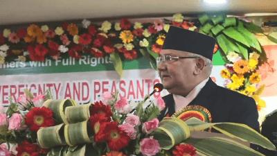 नेपालमा अब कुनै पृथकतावादी आन्दोलन छैन – प्रधानमन्त्री ओली